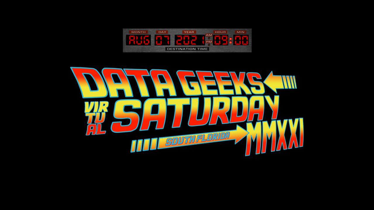 Data Geeks Saturday 2021 Banner